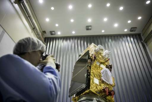 The Sentinel-2B satellite will blast off on a Vega rocket from Europe's space port in Kourou, French Guiana