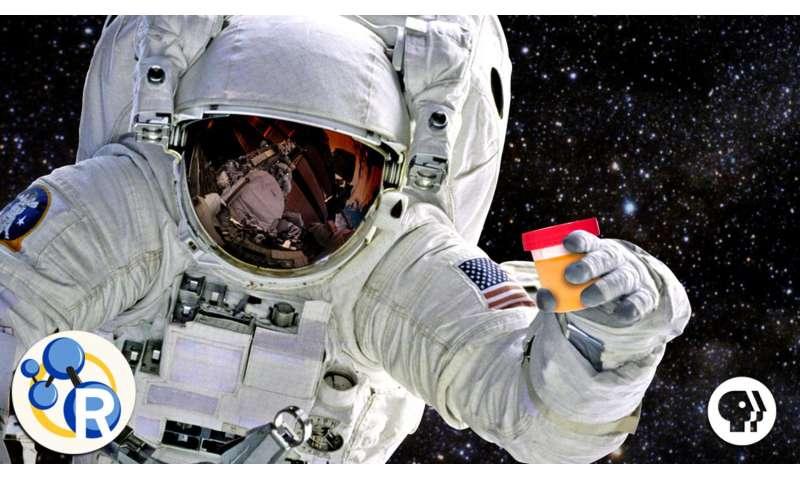 The spacefaring power of... pee? (video)
