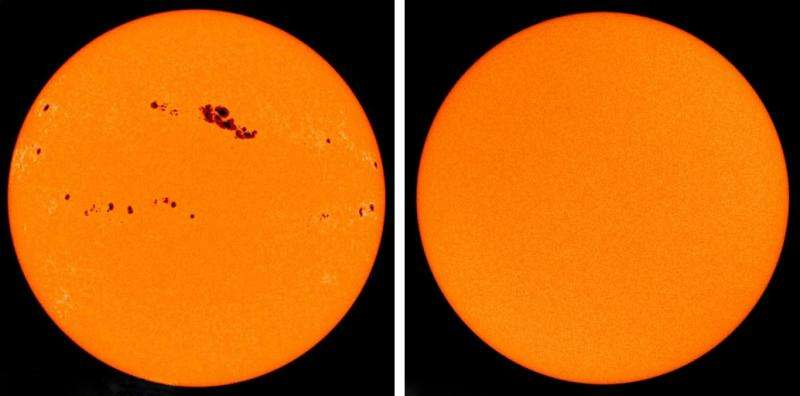 51b7405aca4565 Solar cycle  Solar irradiance is not constant. The brightness of our sun  varies over an approx. eleven-year period
