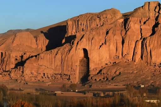 The Taliban destroyed the huge Buddhas carved into the cliffs of Baniyan in 2001