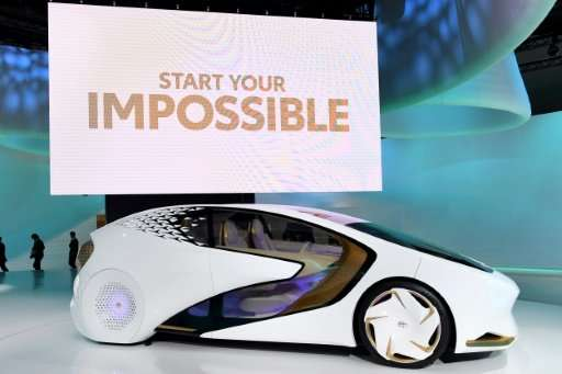 "The Toyota CONCEPT-AI aims to ""understand"" its driver"