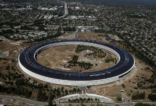 """The upcoming iPhone event will be the first public event at Apple's new """"spaceship"""" campus at its home in Cupertino, C"""
