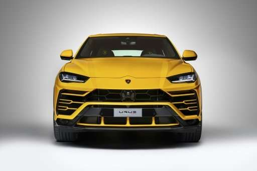 The Urus looks like something that has never been seen before on a road, according to Lamborghini's design director