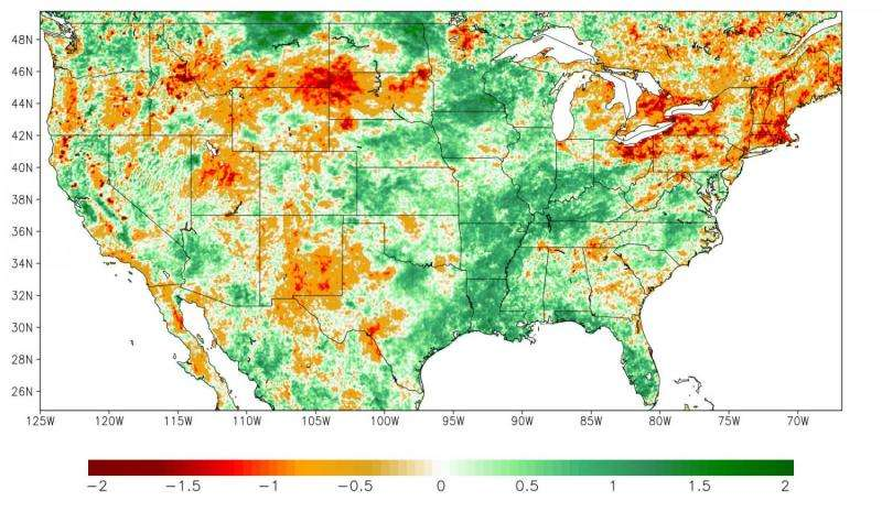 The U.S. is predicting droughts sooner with satellites