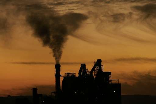 The US is the world's second biggest polluter after China
