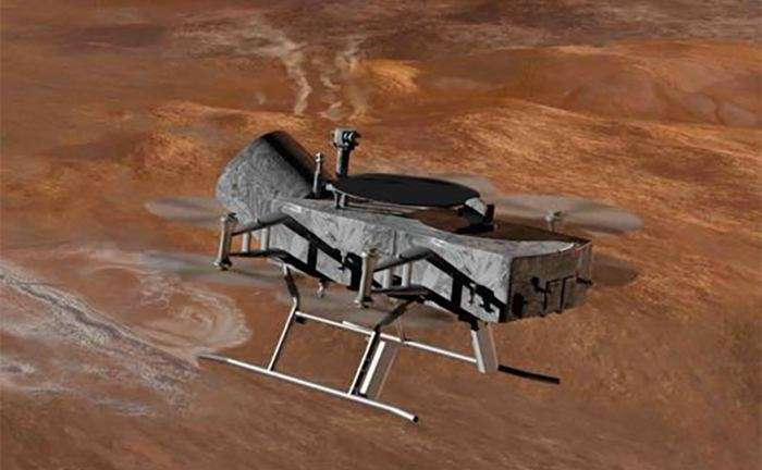 Titan ripe for drone invasion