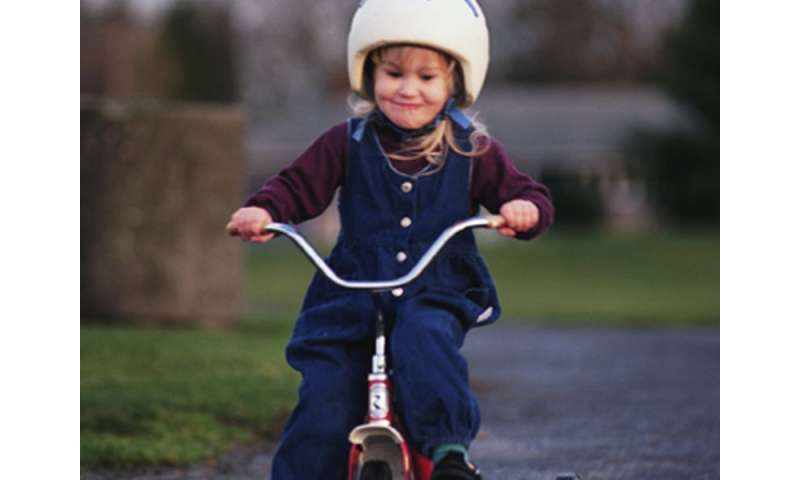 Too many parents say no to helmets for kids on wheels