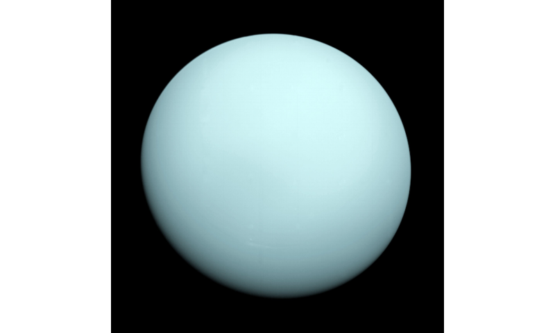 Topsy-turvy motion creates light switch effect at Uranus