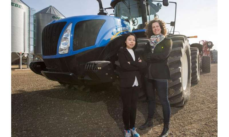 Tractor vibrations can be bad for farmers' backs