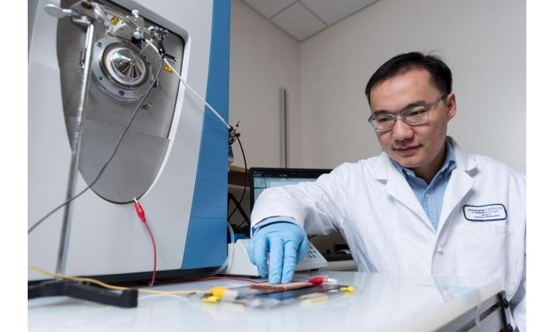 Triboelectric nanogenerators boost mass spectrometry performance