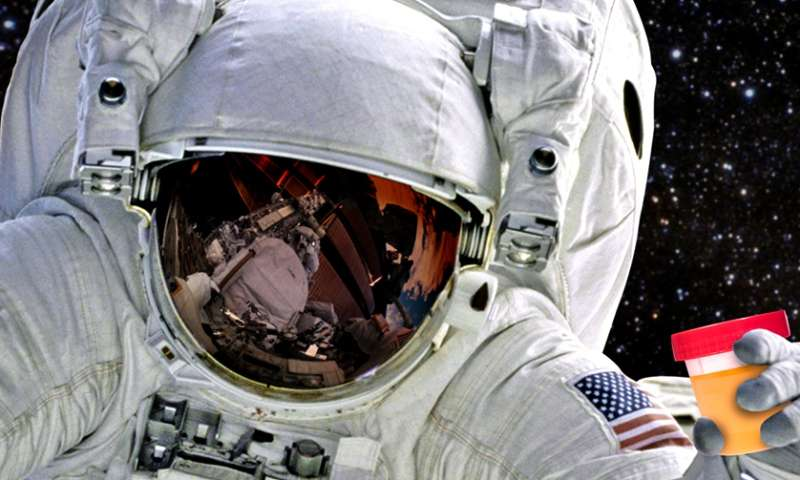 Researchers want astronauts to put their biological waste to work
