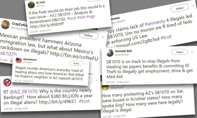 Tweeting rage: How immigration policies can polarize public discourse