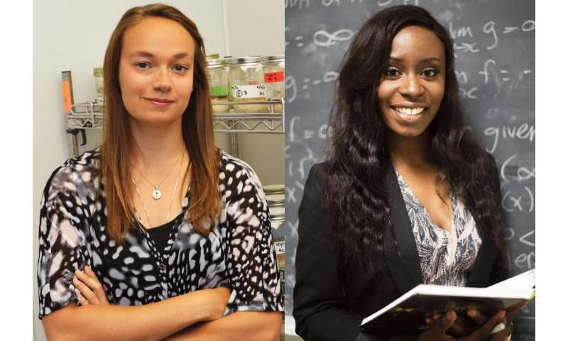 Two UTA students earn prestigious NSF Graduate Research Fellowship Program funding