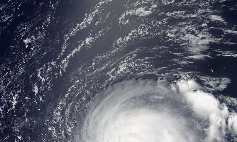 Typhoon Noru gives NASA's Terra satellite the eye
