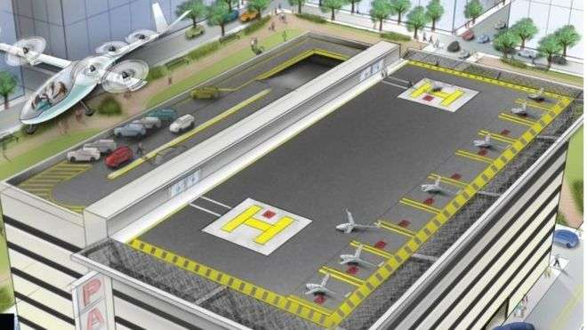 Uber hires Nasa veteran for flying driverless cars plan
