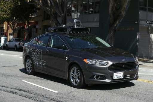 Uber is among the companies testing self-driving cars
