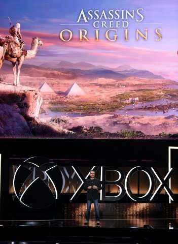 Ubisoft's Jean Guesdon introduces Assassin's Creed: Origins at the Electronic Entertainment Expo (E3) in June  - ubisoftsjean - 'Assassin's Creed' game is back, this time in ancient Egypt