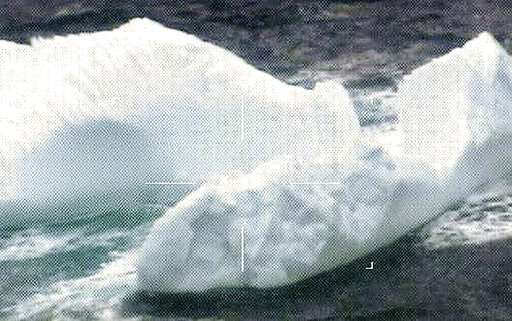 Unusually large swarm of icebergs drifts into shipping lanes