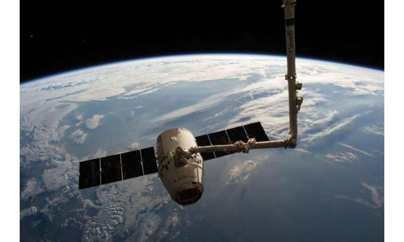U.S. cargo ship set to depart from International Space Station