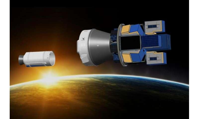 Vega flight opportunity for multiple small satellites