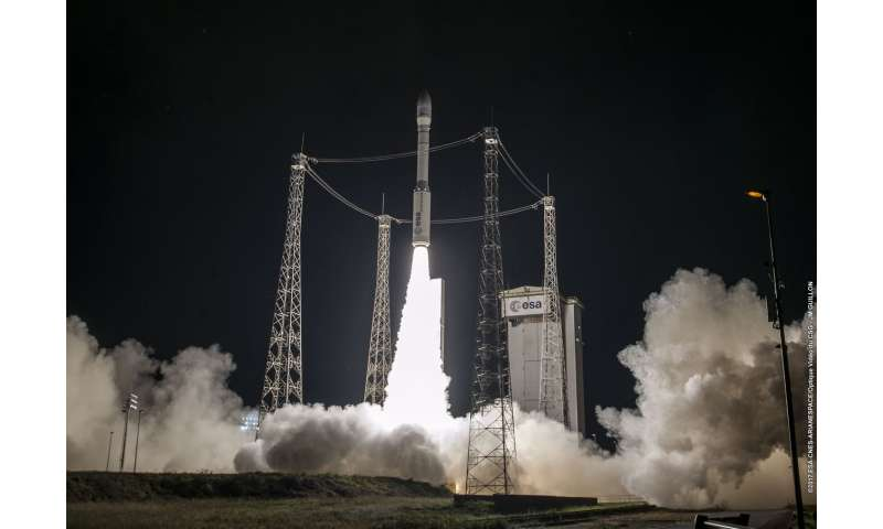 Vega launches Earth observation satellite for Morocco