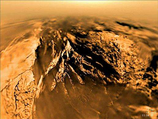 Video: Huygens' descent to Titan