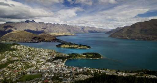 Views like this—of Queenstown and Lake Wakatipu, with the Remarkables mountain range in the background—are one of the reasons to