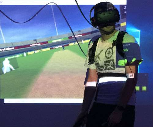 VR cricket game uses motion capture technology for full immersive