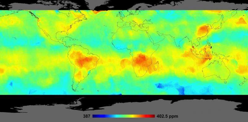 Watching the planet breathe—studying earth's carbon cycle from space