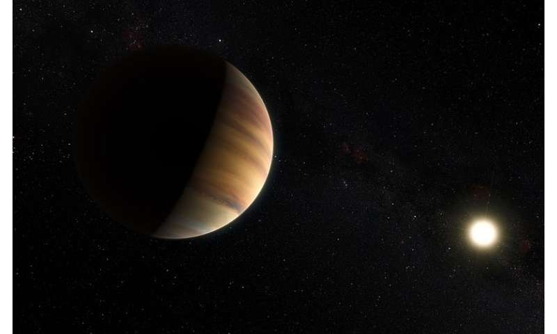 "Water detected in the atmosphere of a ""hot Jupiter"" exoplanet 51 Pegasi b"