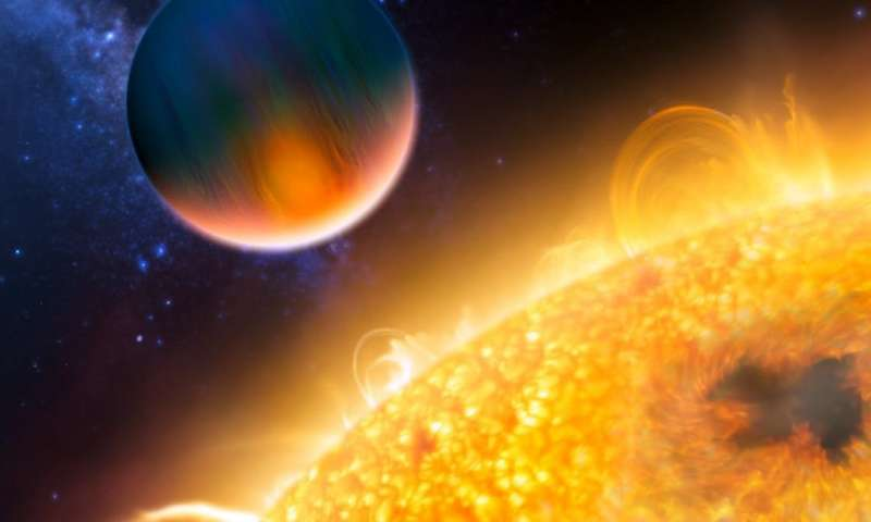 We've found an exo-planet with an extraordinarily eccentric orbit