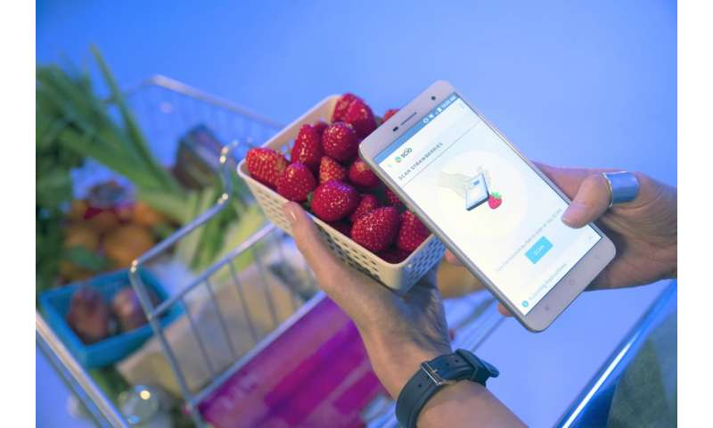 Which strawberry do I eat? Ask your smartphone