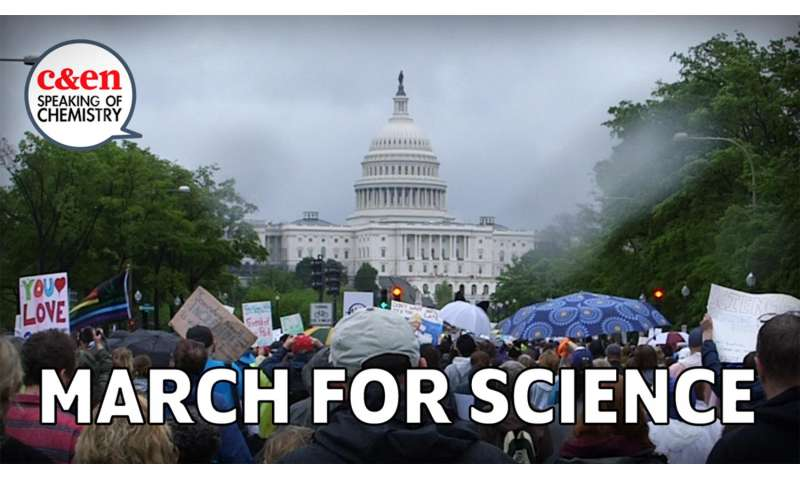 Why chemists marched for science (video)
