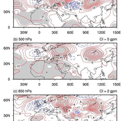 Why did rainfall over Asian inland plateau region undergo abrupt decrease around 1999?