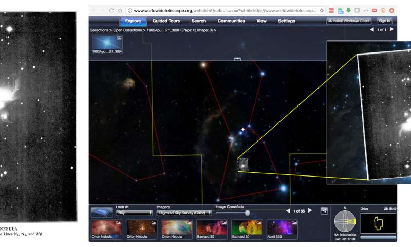 With Astronomy Rewind, citizen scientists bring zombie astrophotos back to life