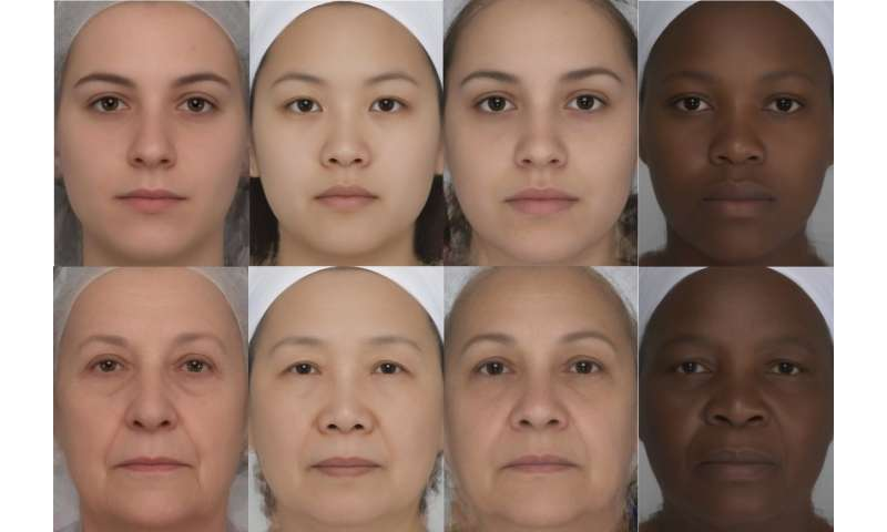 Women seen as younger when eyes, lips and eyebrows stand out