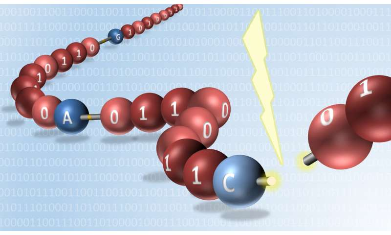 World first for reading digitally encoded synthetic molecules