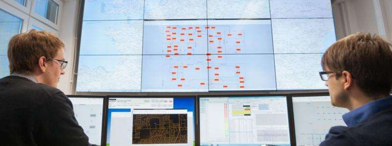 World's first dynamic grid control center