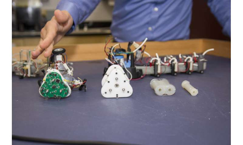 WPI researchers developing autonomous snake-like robots to support search-and-rescue teams
