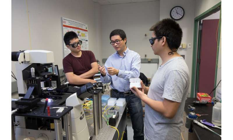 WPI team taking optical device from the lab to the clinic to detect cancer much earlier