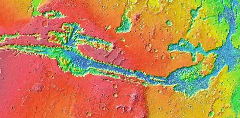 Youngest Mars volcanoes could have supported life, researchers find