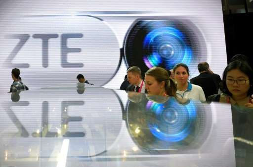 ZTE has pleaded guilty to conspiring to unlawfully export, obstruction of justice and making a false statement