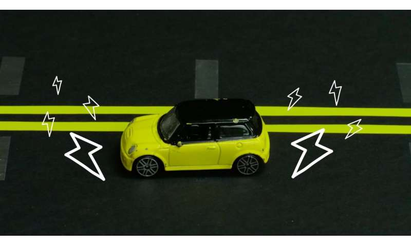 Future electric cars could recharge wirelessly while you drive