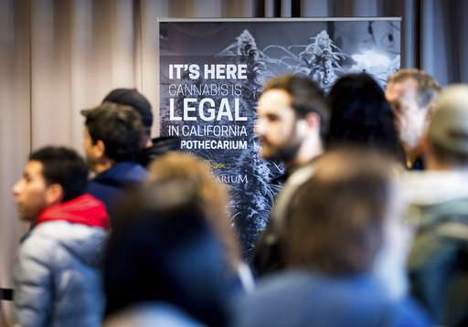 2018 was a big year for legal pot: Here are some highlights