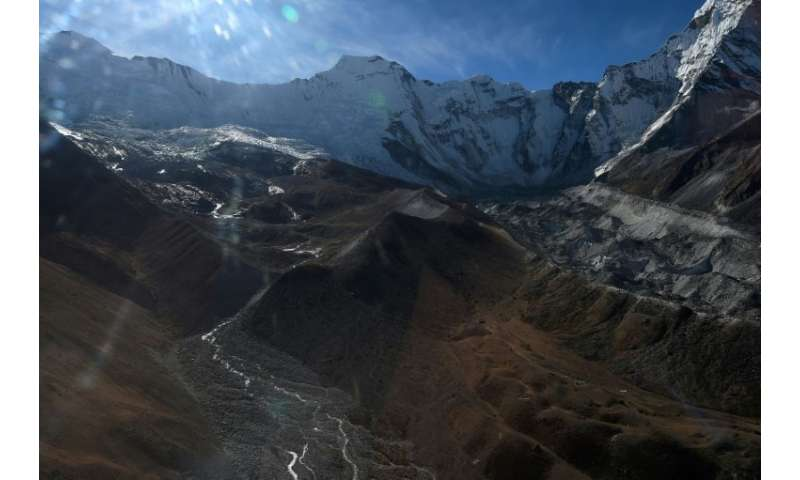 A 2014 survey found one quarter of Nepal's glaciers shrunk between 1977 and 2010