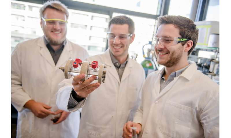 Affordable catalyst for CO2 recycling