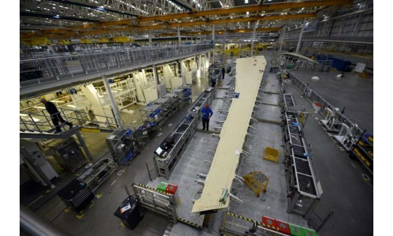 Airbus employs nearly 15,000 people at more than 25 sites in Britain, where it manufactures the wings of its aircraft