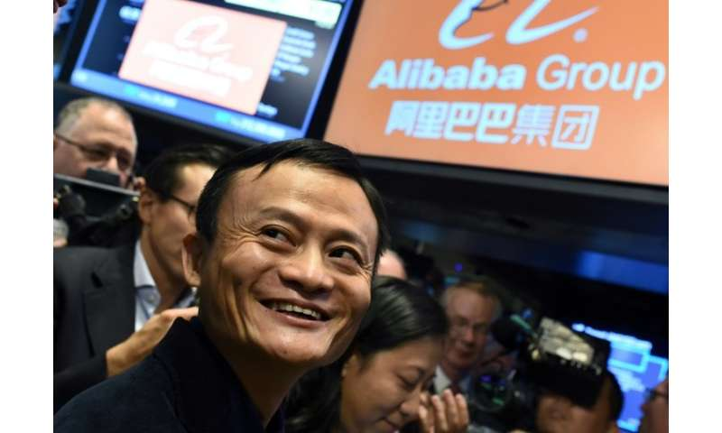 Alibaba founder Jack Ma on the first day of trading for Alibaba on the New York Stock Exchange in 2014. Strict rules essentially