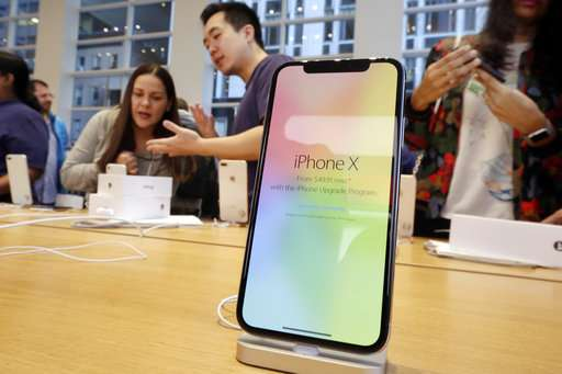 Apple's stock sinks as high hope for iPhone X sales fade