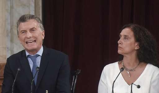 Argentina president urges Congress to start abortion debate